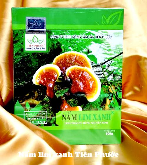 Giá nấm lim xanh Tiên Phước chính hãng được niêm yết công khai tại các đại lý bán hàng
