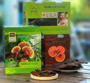 Sản phẩm nấm lim xanh Công ty TNHH Nấm lim xanh Việt Nam