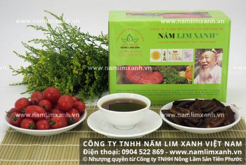 Sản phẩm nấm lim xanh gia truyền Tiên Phước hỗ trợ điều trị bệnh hiệu quả
